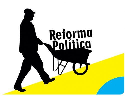 Avançam as reformas