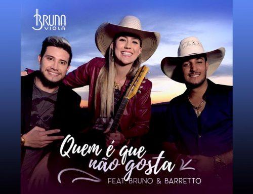 Bruna Viola e Bruno & Barretto lançam música juntos