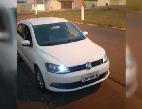 Veículo é roubado em Guariba