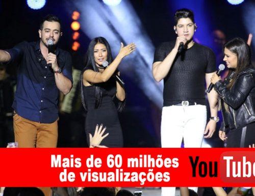 """""""Raspão"""", atinge 60 milhões de views no youtube"""