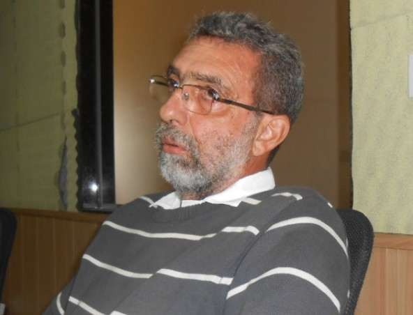 Aparecido Hojaij (Pelão) também é diretor de operações no SAAEJ e também é vice-presidente do Comitê da Bacia Hidrográfica do Rio Mogi-Guaçu, representando o setor 'Usuários de Recursos Hídricos' (Foto: Fábio Penariol/Jornal 101)