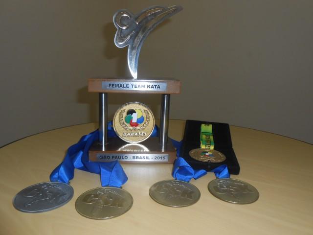 Várias medalhas foram conquistas por jaboticabalenses no karatê (Foto: Fábio Penariol/Jornal 101)