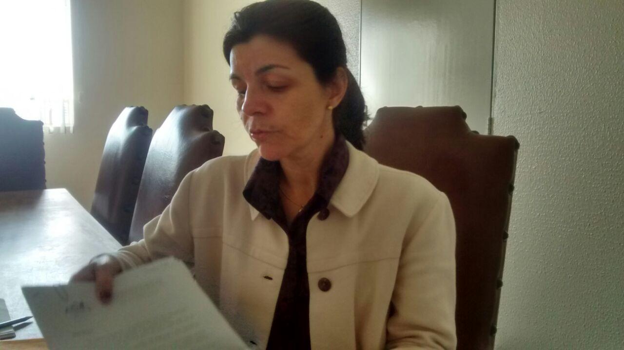 Adriane Baggi, presidente do Conselho Municipal de Assistência Social, falou com o Jornal 101 (Foto: Reginaldo Coelho/Jornal 101)