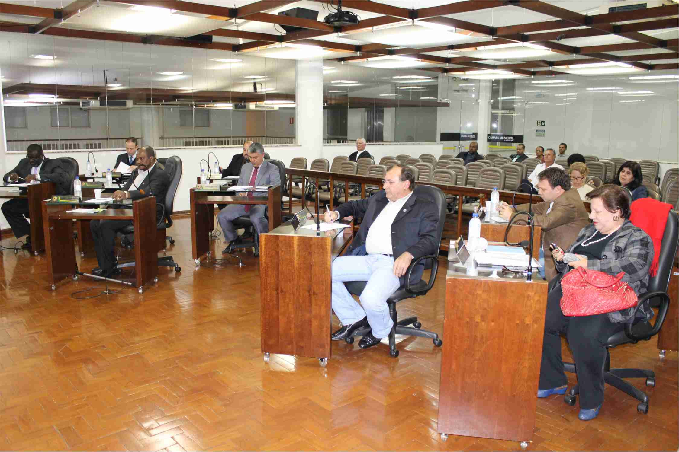 Sessão da Câmara de ontem, segunda-feira, 6 foi uma das mais curtas do ano (Foto: Câmara M. de Jaboticabal)