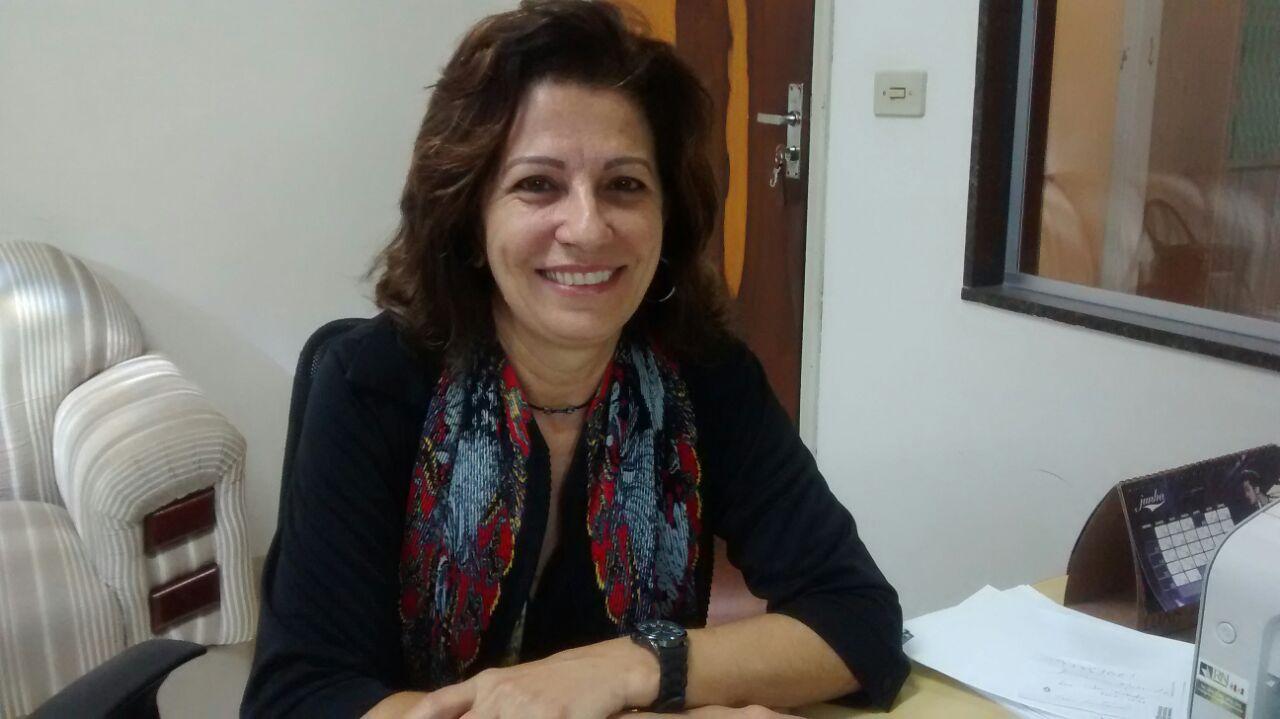 Maria Chioda Marques, membro do Concriaja, falou ao Jornal 101 sobre as inscrições (Foto: Reginaldo Coelho/Jornal 101)