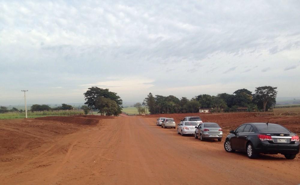 Estrada liga Jaboticabal a Ibitirama, Taiúva e diversos sítios e fazendas (Foto: Jornal 101)