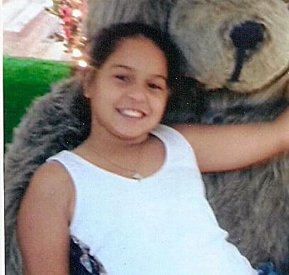 Menina desaparecida se chama Sabrina (Foto: Arquivo pessoal/Mãe da garota)