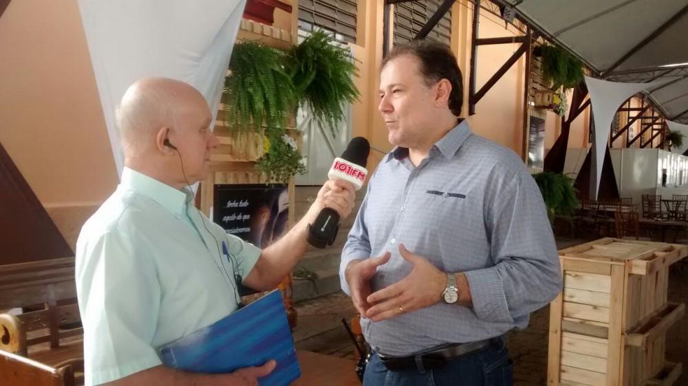 Presidente da Festa do Quitute e secretário de Governo da Prefeitura de Jaboticabal, José Paulo Lacativa Filho (Foto: Reginaldo Coelho/Jornal 101)