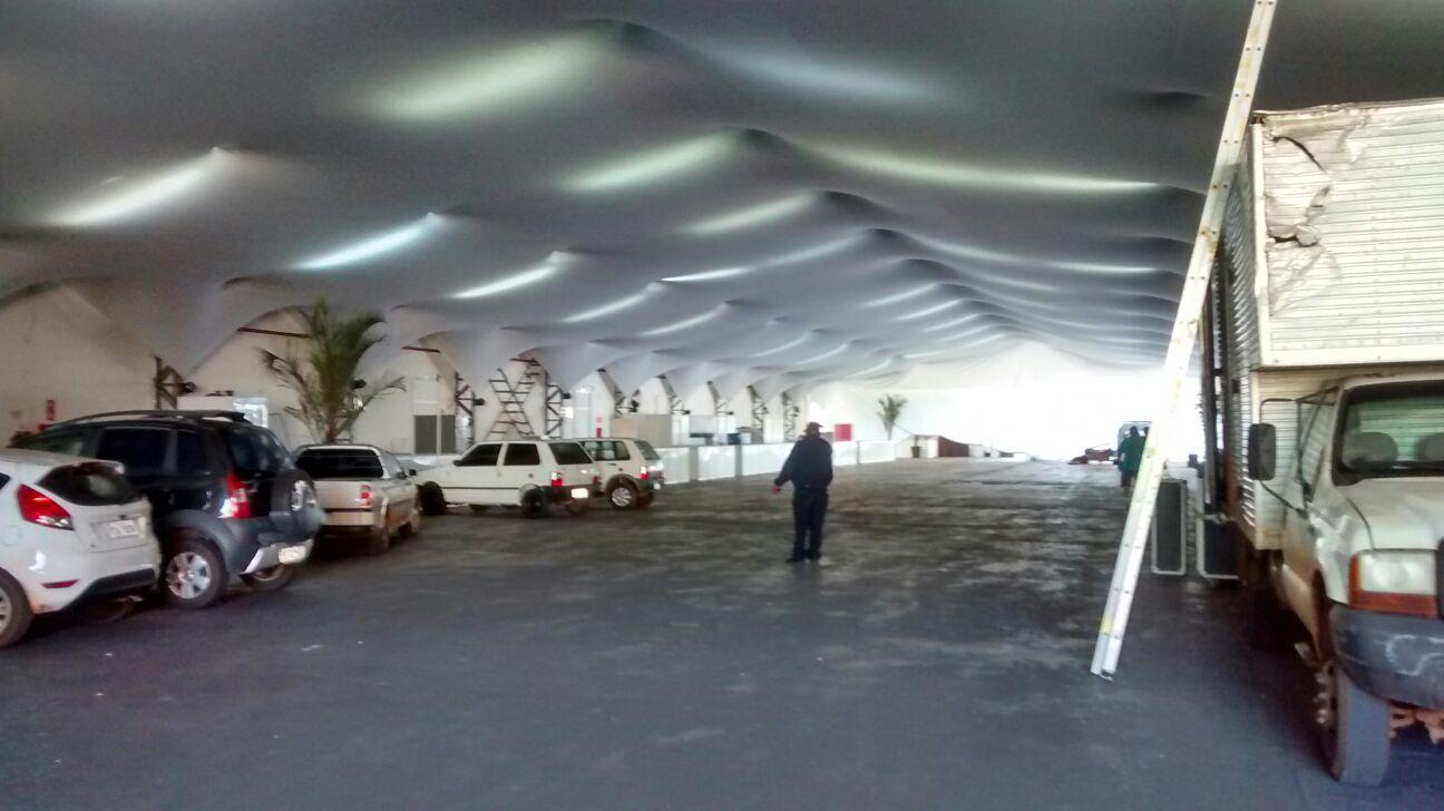 Últimos preparativos estão sendo realizados para a Festa do Quitute (Foto: Reginaldo Coelho/Jornal 101)