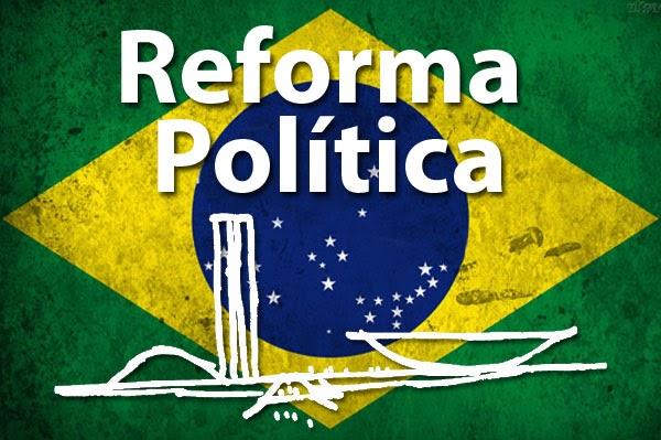 """Segundo Coletti, em seu artigo, reforma política """"pra valer"""" ficou para o próximo mês (Ilustração/Divulgação)"""