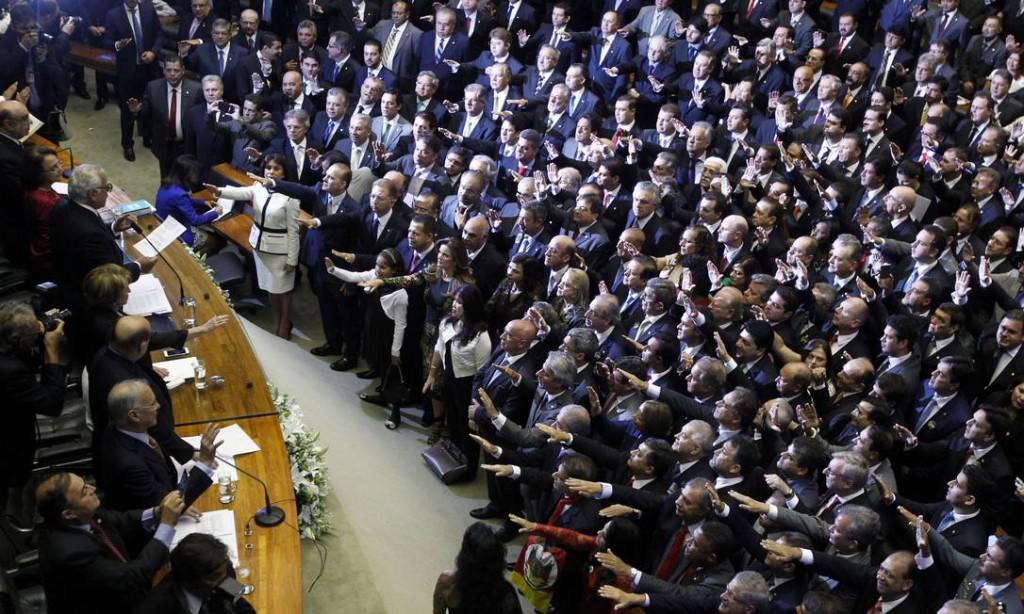O clima no Congresso Nacional é de turbulência total, segundo Coletti (Foto: Divulgação)