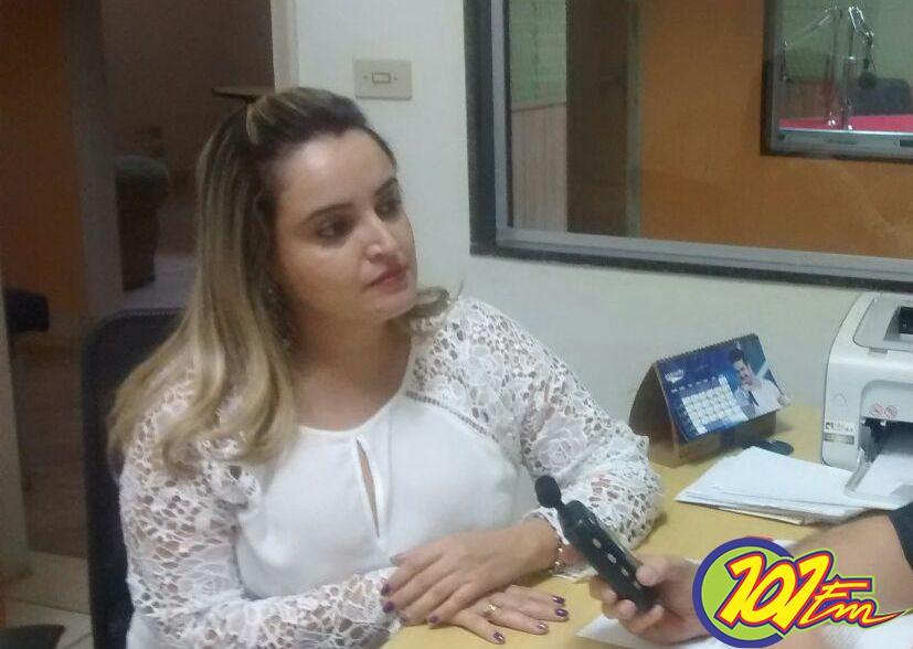 A psicóloga Karina Izilda Ferreira falou sobre a profissão (Foto: Jornal 101)