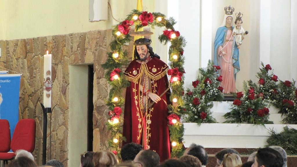Na noite desta quinta-feira (06) há quermesse no barracão do Bom Jesus (Foto: Divulgação)