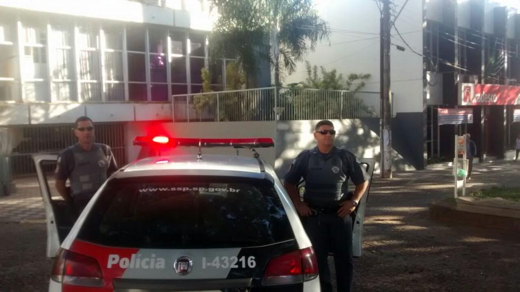 A Polícia militar (PM) está realizando operações especiais em Jaboticabal (Foto: Reginaldo Coelho/Jornal 101)