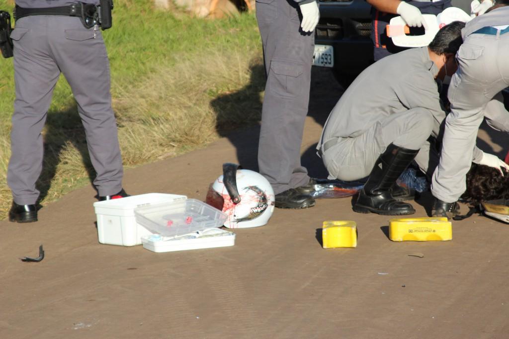 Acidente aconteceu na rodovia José Pizarro (Foto: Jornal Connect Monte Alto)