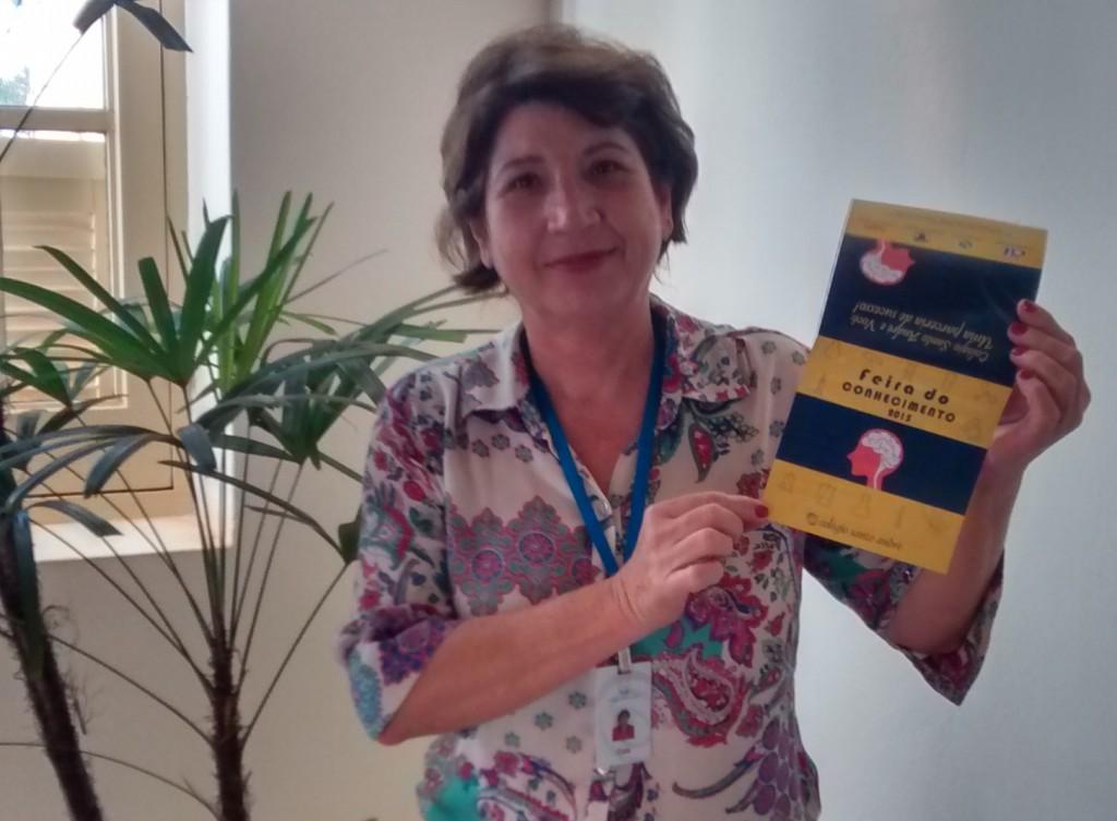 Coordenadora Maria Aparecida Carboni (Foto: Fábio Penariol/Jornal 101)