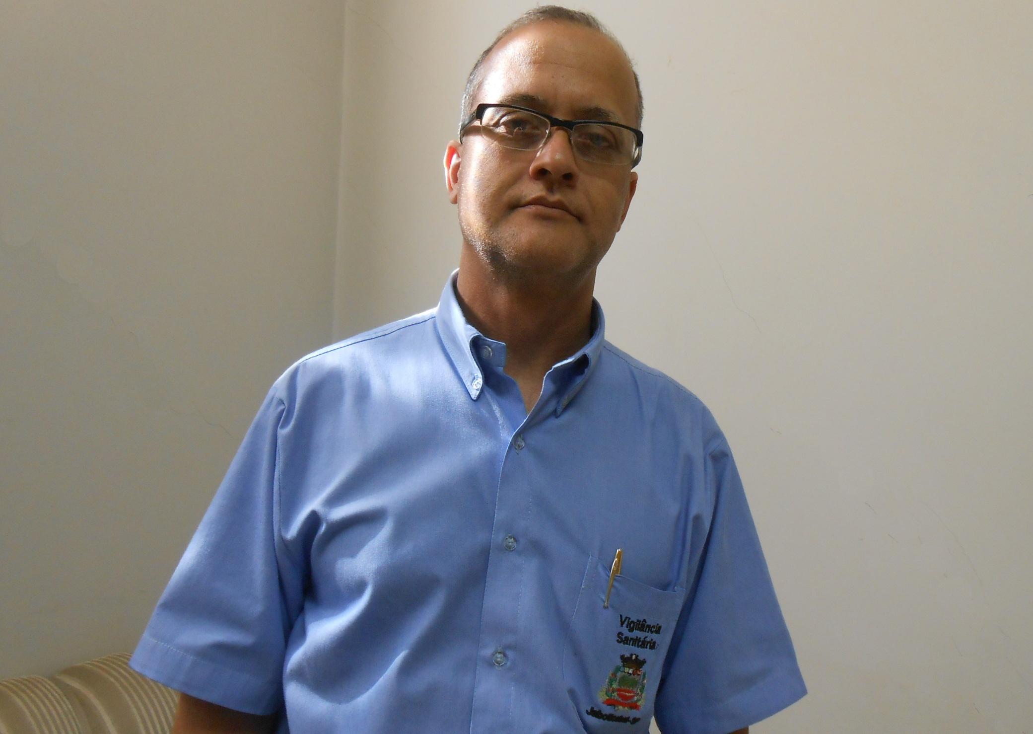 Fernando Arrobas Martins, coordenador da Vigilância Sanitária de Jaboticabal (Foto: Fábio Penariol/Jornal 101)