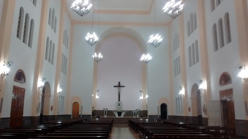 Após 5 anos, igreja foi reinaugurada (Foto: Ângelo Loraschi)