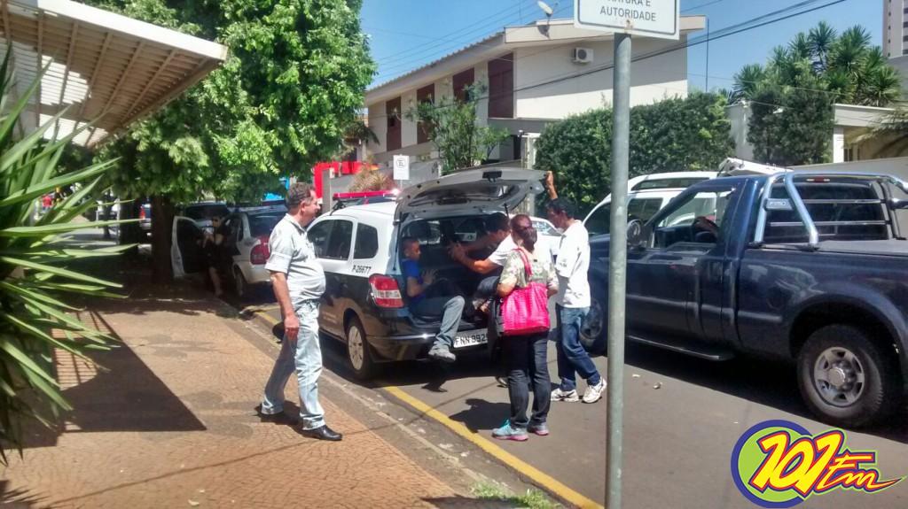 Polícia realizou megaoperação em Jaboticabal (Foto: Reginaldo Coelho/Jornal 101)