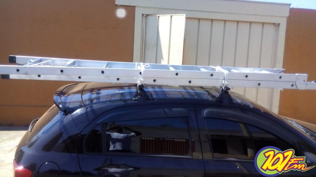 Foto do veículo furtado, fornecida pela vítima (Foto: Arquivo Pessoal)