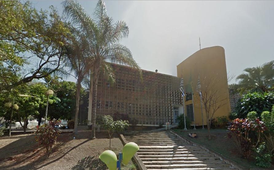 Setor Técnico do Fórum trabalha em novas dependências (Foto: Street View/Google)