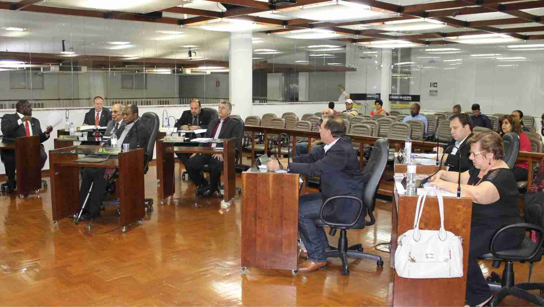 'Sessão relâmpago' trata sobre orçamento para 2016 (Foto: Site Câmara Municipal de Jaboticabal)