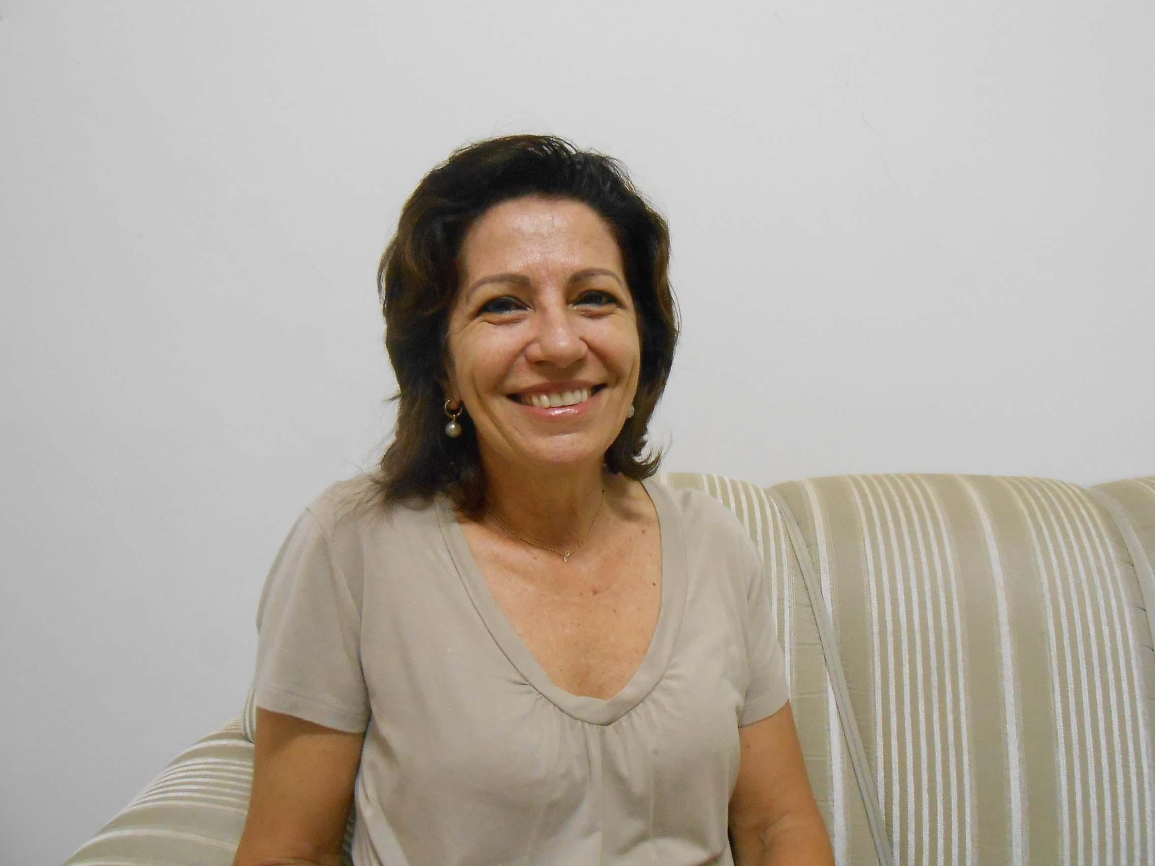 Maria Aparecida Chioda Marques, conselheira do Comcriaja (Foto: Fábio Penariol/Jornal 101)