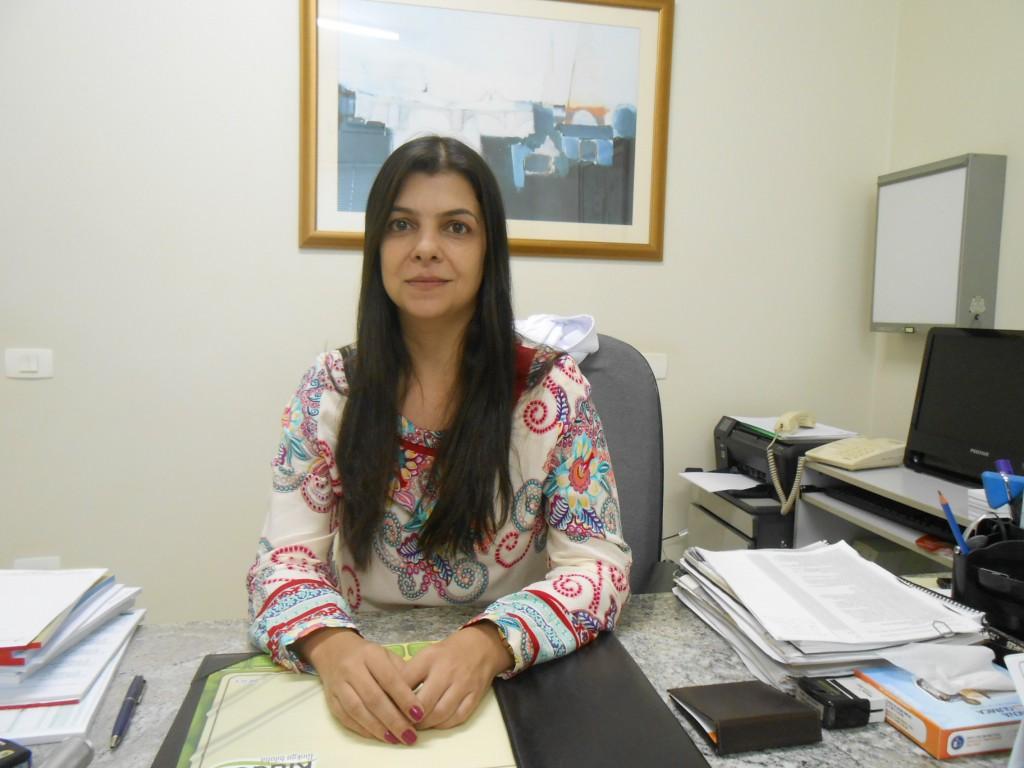 Drª Erica Fuduli Verra, médica da Unimed de Jaboticabal (Foto: Fábio Penariol/Jornal 101)