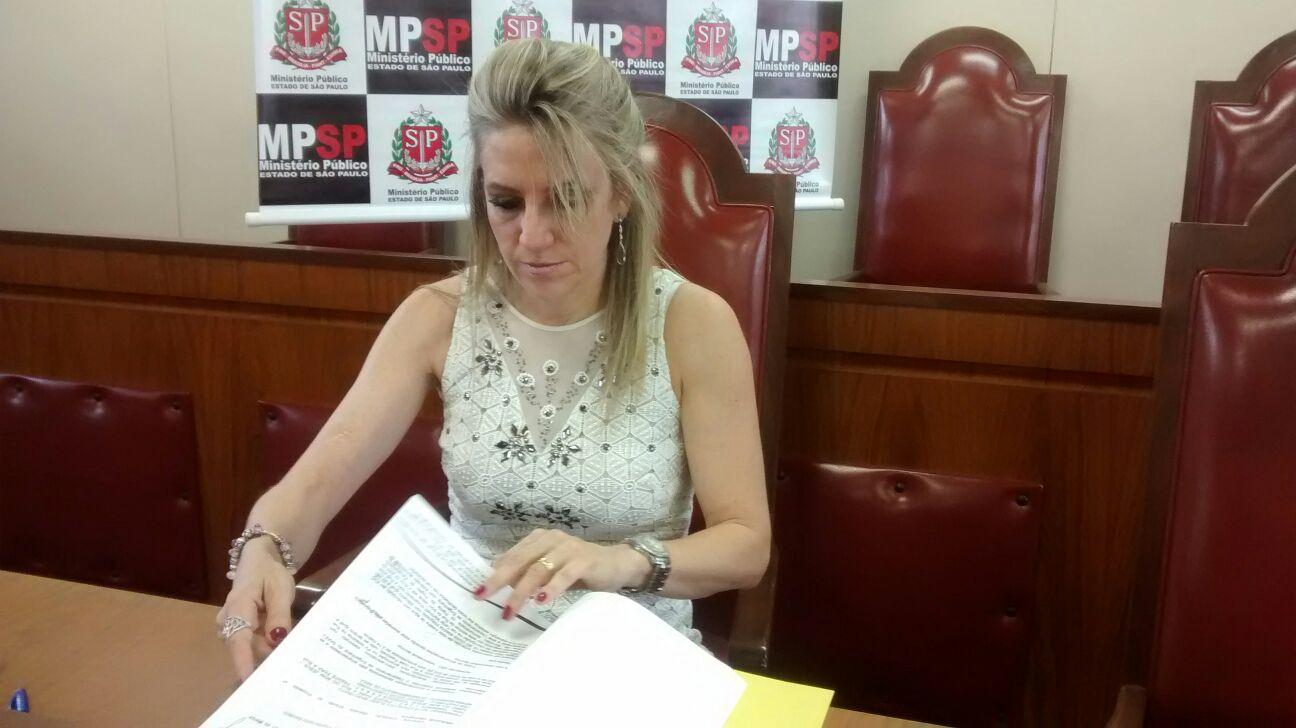 Promotora Drª Ethel Cipele (Foto: Reginaldo Coelho/Jornal 101)