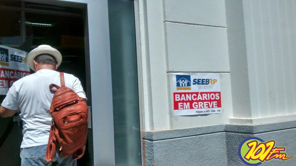 Após 17 dias de paralisação, não houve acordo entre bancos e funcionários (Foto: Reginaldo Coelho/Jornal 101)
