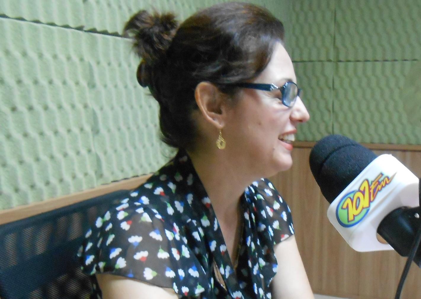 Renata Assirati, Secretária de Saúde da Prefeitura (Foto: Fábio Penariol/Jornal 101)