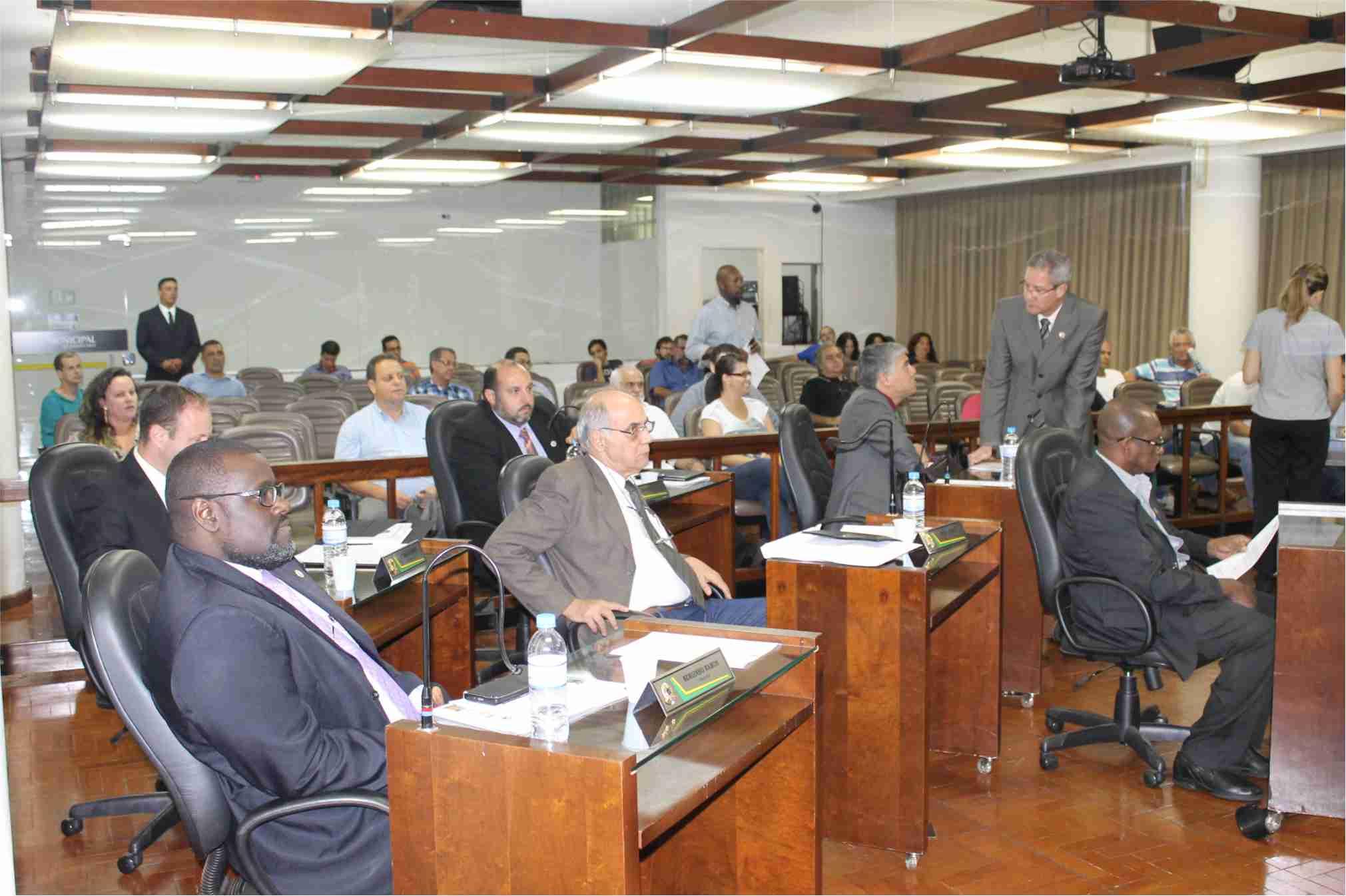 'Taxa do lixo' recebe novo pedido de vistas, desta vez, do vereador Sergio Ramos, do PPS (Foto: Site da Câmara Municipal de Jaboticabal/Divulgação)