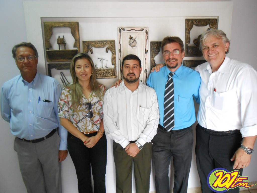 Chapa única das eleições participou de entrevista no Jornal 101 (Foto: Fábio Penariol/Jornal 101)