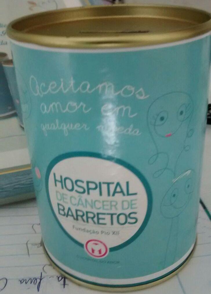 Bandidos estão roubando cofrinhos de Hospital de Câncer (Foto: Reginaldo Coelho/Jornal 101)