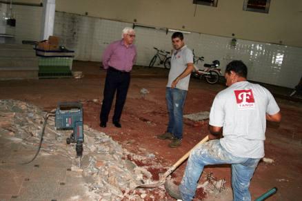 Em março, a Prefeitura informou que a previsão de entrega da obra era de cinco meses (Foto: Site da Prefeitura de Jaboticabal/Divulgação)