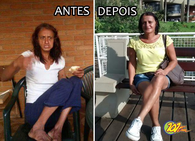 Rose Adão relatou que chegou a pesar 21 kg na época em que usava drogas (Ilustração/Jornal 101)