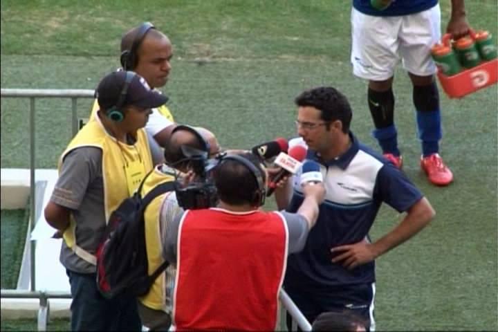 Rodrigo Fonseca é treinador do Cruzeiro (Foto: Reprodução/Redes Sociais)