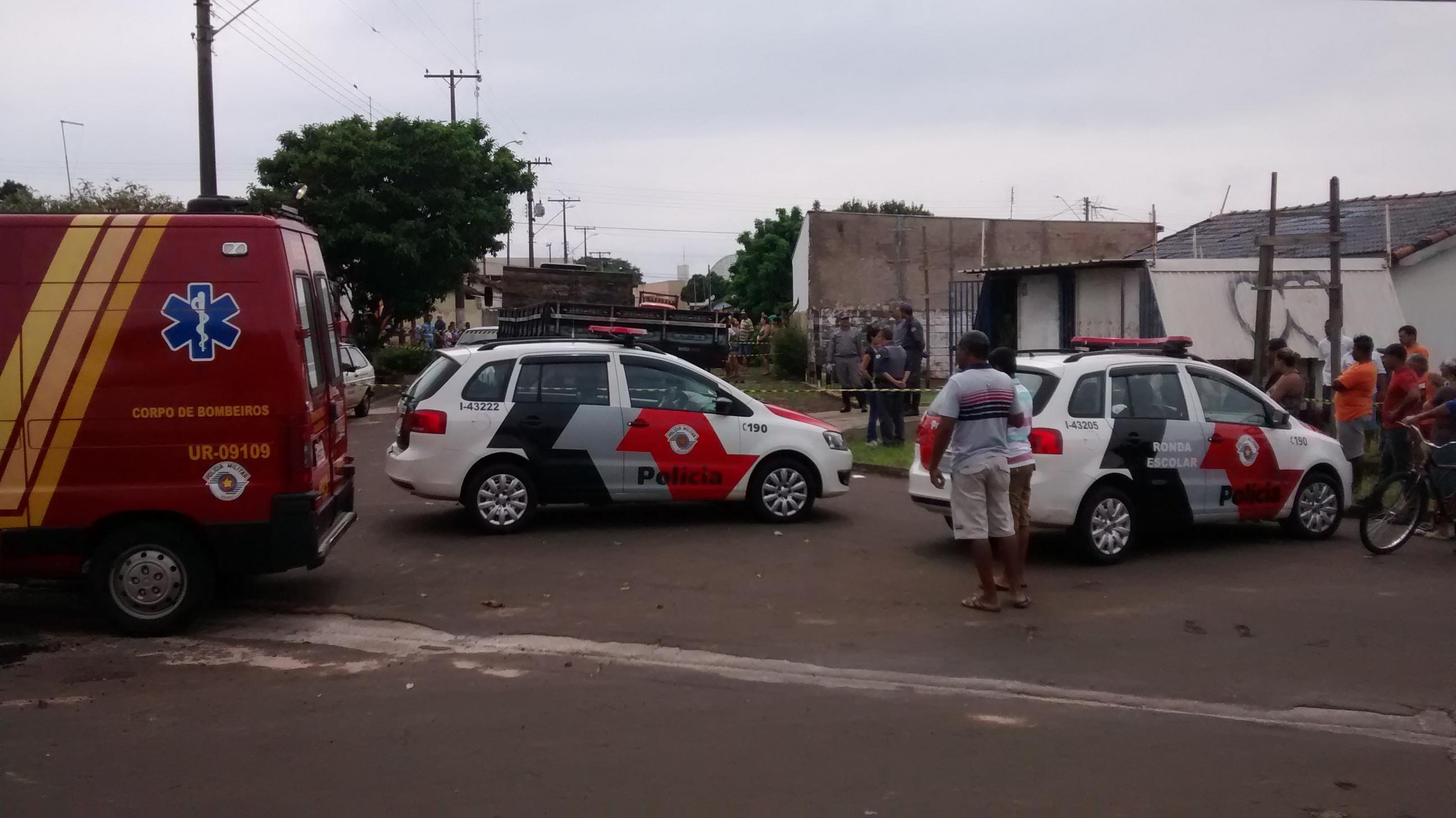 Acidente chocou o bairro Cohab 3, na manhã desta quarta, 27 (Foto: Fábio Penariol/Jornal 101)