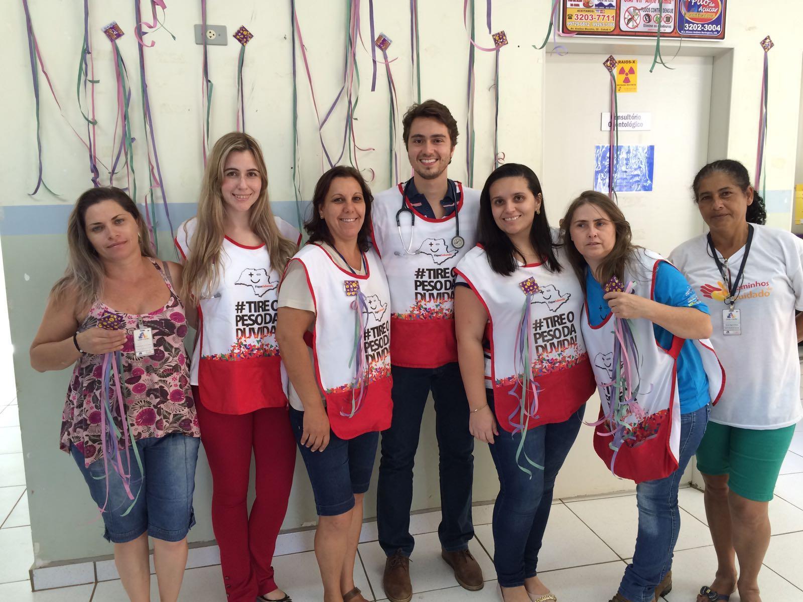 Profissionais da área deram explicações sobre o trabalho (Foto: Reginaldo Coelho/Jornal 101)