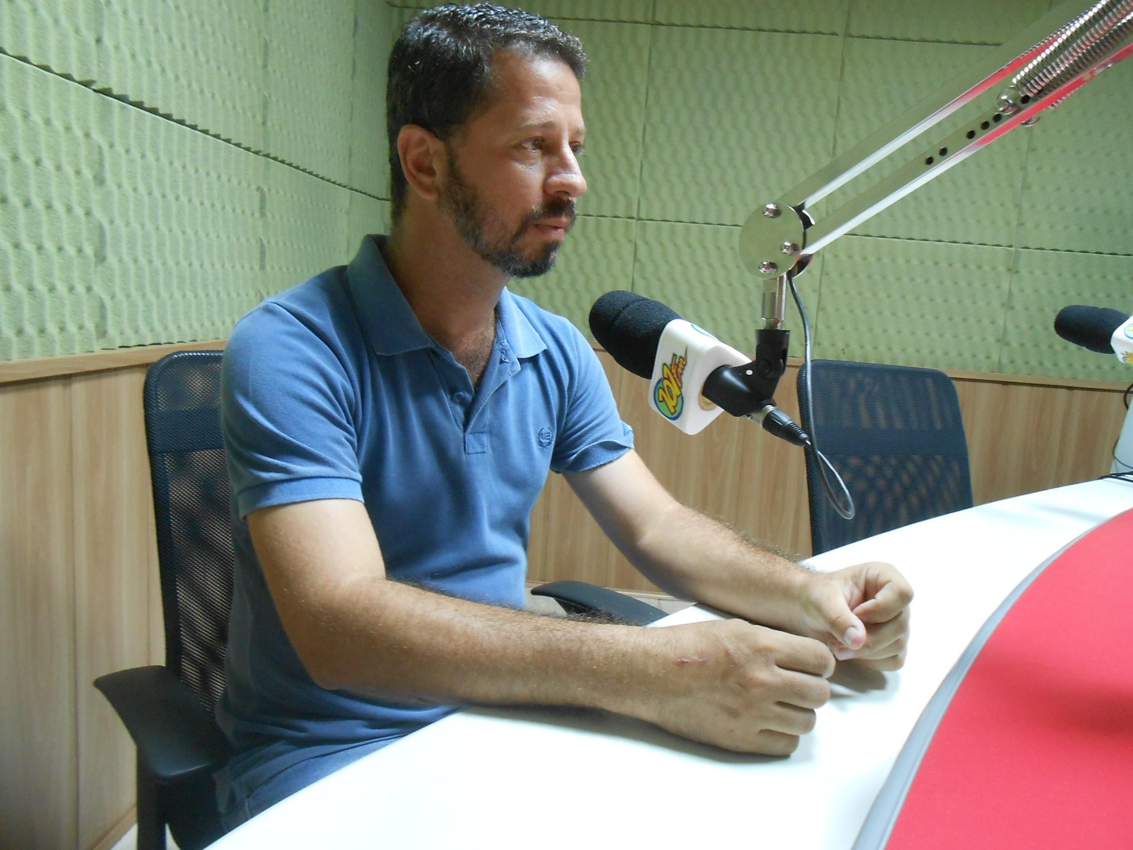 Luciano Scarpim, presidente da ONG Fenix (Foto: Fábio Penariol/Jornal 101)