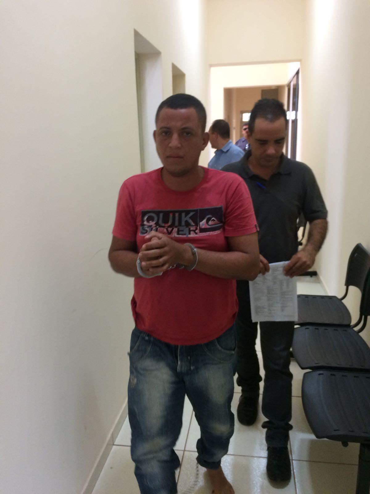 Rapaz foi preso em seguida e a polícia descobriu que o criminoso é filho de um vereador de Guariba
