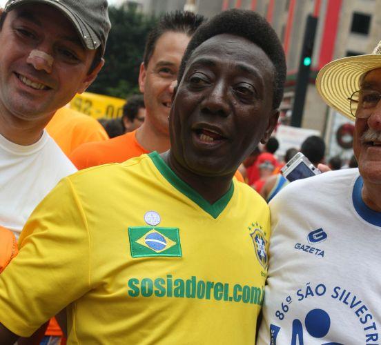 Nicanor Ribeiro, sósia oficial de Pelé (Foto: Reprodução/UOL)