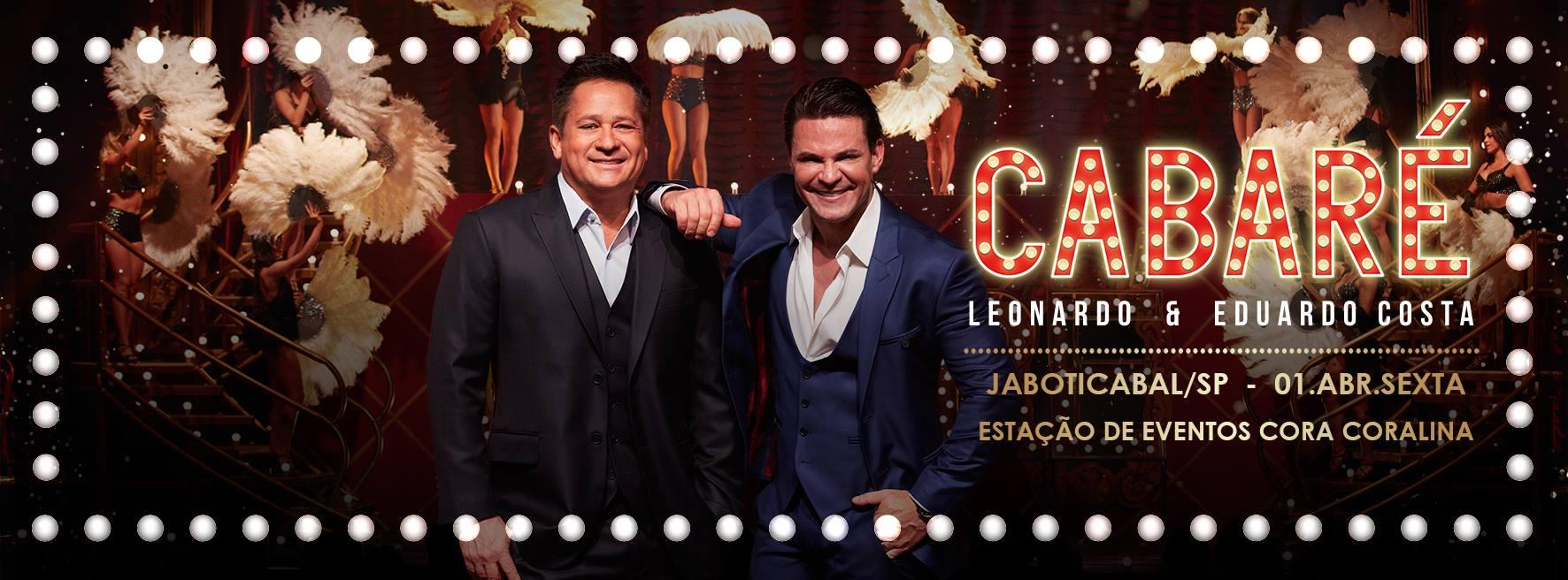 Show Cabaré (Ilustração: Organização do evento)