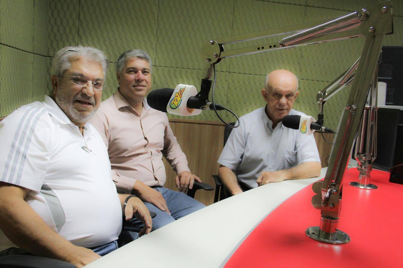 Dr. Nechar e o vereador Junior de Vitto falaram ao Jornal 101 sobre a postura do PSB nas eleições de 2016