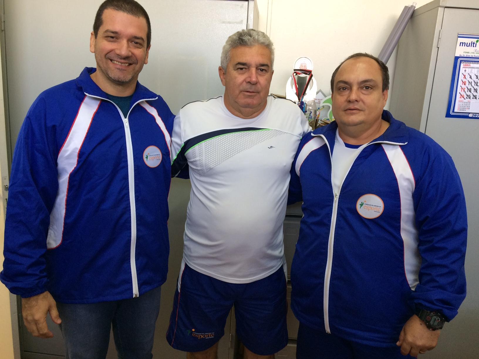 Coordenadores da FAE: (da esquerda/direita) João Pifer, Carlos Alberto e Anselmo Hungaro (Foto: Fábio Penariol/Jornal 101)