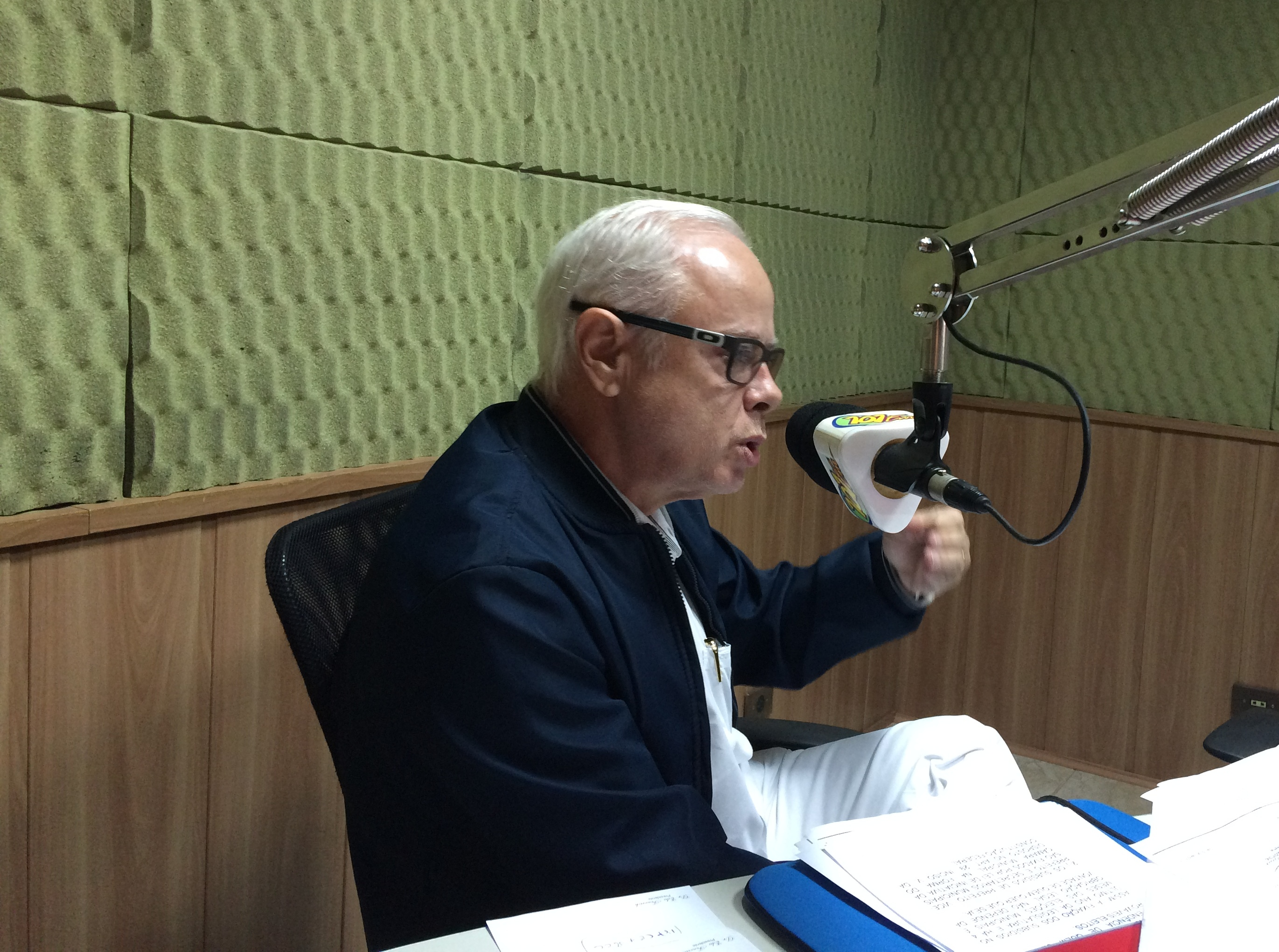 Vereador e presidente da Câmara Municipal de Jaboticabal, Edu Fenerich (PPS) falou sobre reajuste de subsídios (Foto: Fábio Penariol/Jornal 101)