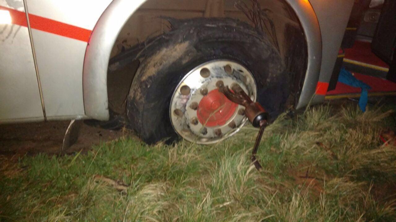 Vítima era motorista do veículo que transportava 'sacoleiros' para São Paulo