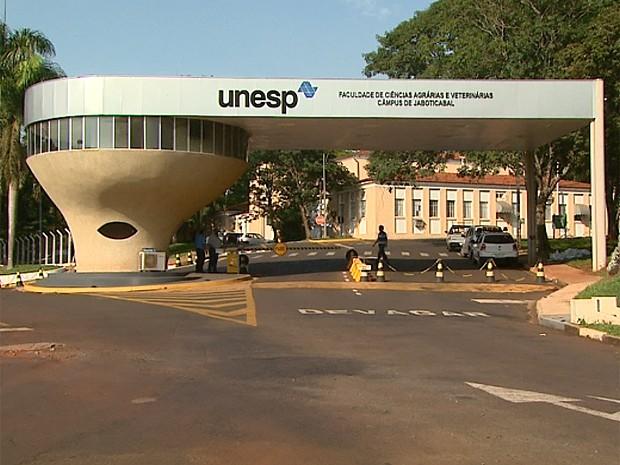 Servidores da Unesp entram parcialmente em greve (Foto: Reprodução EPTV)