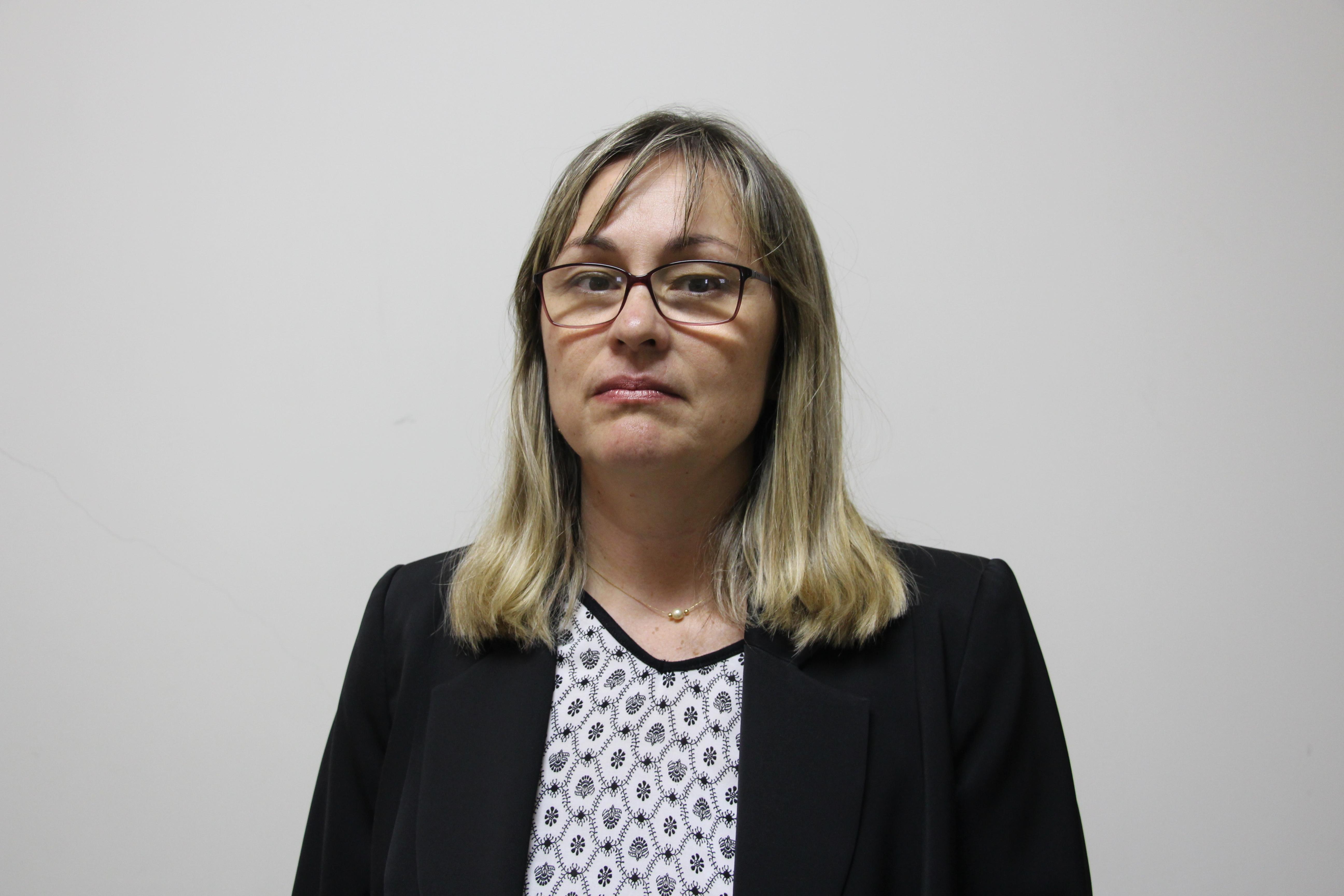 Secretária de Negócios Jurídicos da Prefeitura, Drª Mirela Senô falou sobre o Clube Jaboticabal (Foto: Renan Leite/Jornal 101)