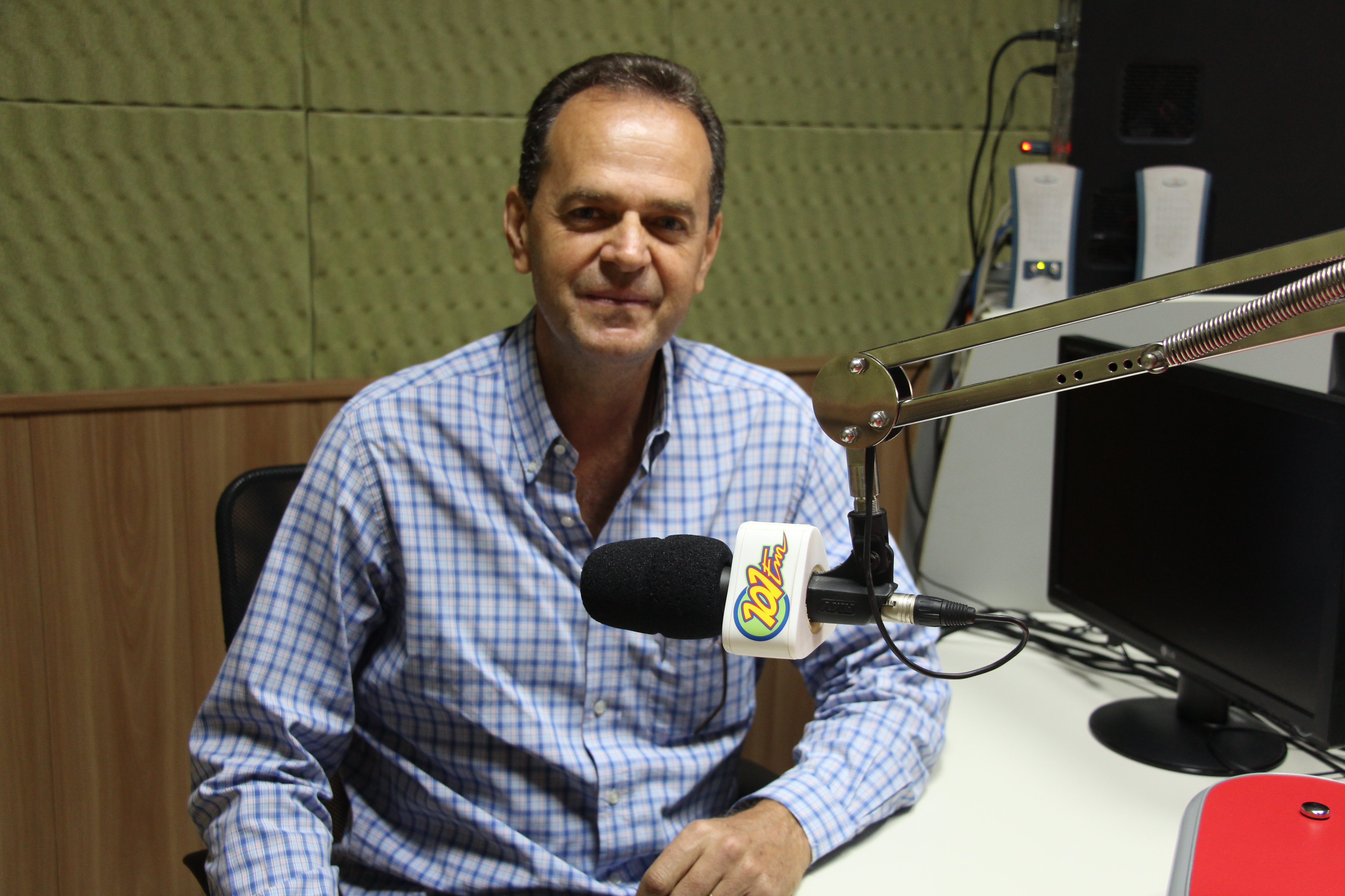 Carlos Asseli, presidente do Lions Clube de Jaboticabal (Foto: Renan Leite/Jornal 101)